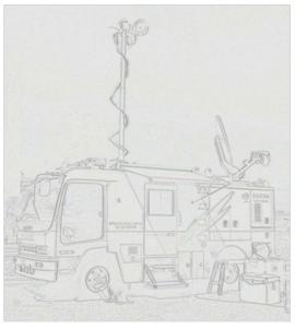 衛星通信車